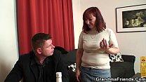Strip poker leads to old threesome pornhub video