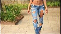 Sexy fit black girl thumbnail