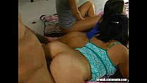 Young Hotties Group Orgy Sleep Over