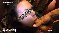 Elise is on her knees blindfolded sucking cock like a good girl Vorschaubild