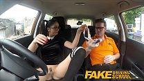 Fake Driving School Sexy Spanish Learner sucks ...