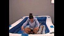 Image: Mixed Oil Wrestling - 020 - Salesman Slapping - Rebekah