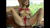 shiny red bikini dress pornhub video