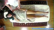 Asian amateur babe dicksucking her masseur pornhub video