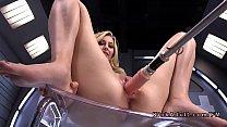 Petite blonde fucks machine solo pornhub video