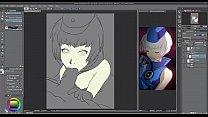 Hentai Speed Painting - Elizabeth (Persona 3)