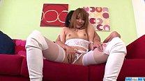 Rinka Aiuchi Gets A Big Dick To Stretch Her Moist Asian Twat