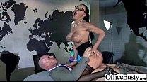 Slut Girl (peta jensen) With Big Melon Tits Banged In Office clip-28