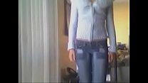 Девушка показывает большую грудь видео