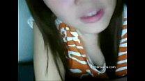Fair cute Asian webcam stripping thumbnail