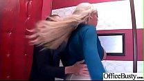 (Bridgette B) Big Round Juggs Girl Like Hard Bang In Office clip-07