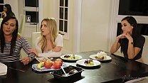 Karla Kush cheats on her lesbian wife with Georgia Jones preview image