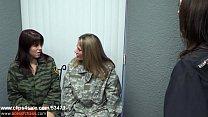 Image: Slutty Soldiers - Sadie Holmes Allura Skye & Lela Beryl