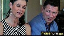 Babe Fires Nuru Massage 24