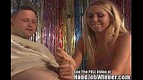 Tan blonde Brynn Tyler gives her fan Jeremy a h...
