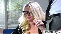 Hard Sex Action With Slut Big Tits Office Girl (Julie Cash) Video-21