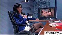 Sex Scene In Office With Slut Hot Busty Girl (C...