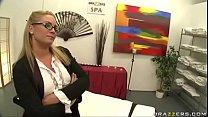 Flower tucci massage anal