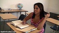 ผู้ปกครองเด็ดมาโรงเรียนตามนัด แล้วเย็ดกับอาจารย์สาวซะอย่างนั้น