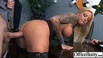 Hard Sex With Big Tits Sluty Office Girl (britney shannon) vid-10