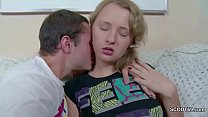 Bro Seduce Petite Virgin 18yr old Step-Sister t...