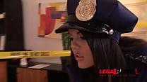 Crime scene doesn't stop Officer Madison Parker... Thumbnail
