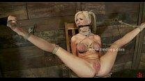 Busty deepthroat bondage sex video