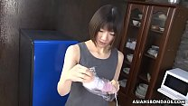 Image: Shiori Natsumi got caught using a new vibrator she got