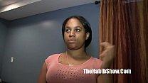 Секс в чулках с похотливой женщиной