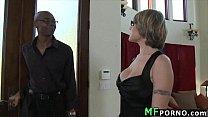 Teacher with glasses tries big black dick Velicity Von 1
