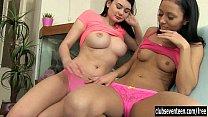 Sexy brunette lesbians fuck porn image
