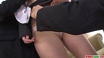 Free download video bokep Kotomi Asakura super hot office sex with two men - More at Japanesemamas com