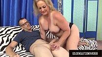 Skinny Pervert Uses Older Summers Juicy Body for Pleasure's Thumb