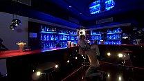 Eric Manly Y Eva Autumn Haciendo Un Cunnilingus En La Barra Vip De La Sala Luxx
