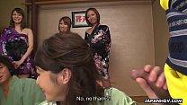 Japanese wives, Hikari and Kaede Niiyama made s...