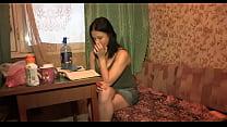 Простая русская девушка просит парня своего чтобы он ее потрахал