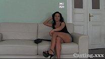 Casting HD Glamour girl milks me dry
