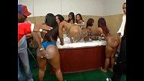 Big Black Wet Butt Orgy ; Starring Cherokee D Ass, Lexi cruz, Kina Kara and Angie Love - 9Club.Top