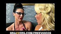Kendra gets a lesson in femdom and strap-on anal Vorschaubild