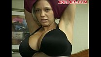 Hot Milf loves two cocks preview image