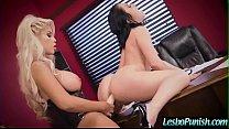 (Kristina Rose & Bridgette B) Lesbo Girls Punis...
