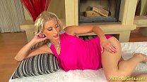 hot skinny blonde masturbating pornhub video
