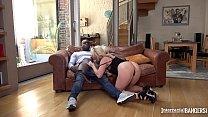 Image: Interracial bangers can watch blondie Victoria Summers suck big black cock