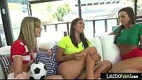 Sex Tape Sexy Lesbians Teen Girls (Rilynn Rae & Abigail Mac & Kenna James) clip-26