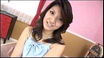 Asian girl toying