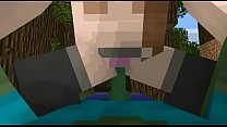 Porno animation (Minecraft sex Zombie and Girl)by DOLLX