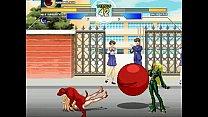 Kula Diamond & Kuromaru vs. Sailor Venus