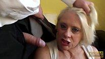PASCALSSUBSLUTS - Choked granny Carol gets roug...