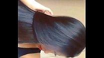 Long hair beautiful babes dance and hair play 2015 Thumbnail