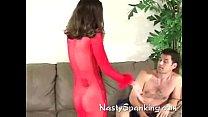 Amateur wife spanking her boyfriend